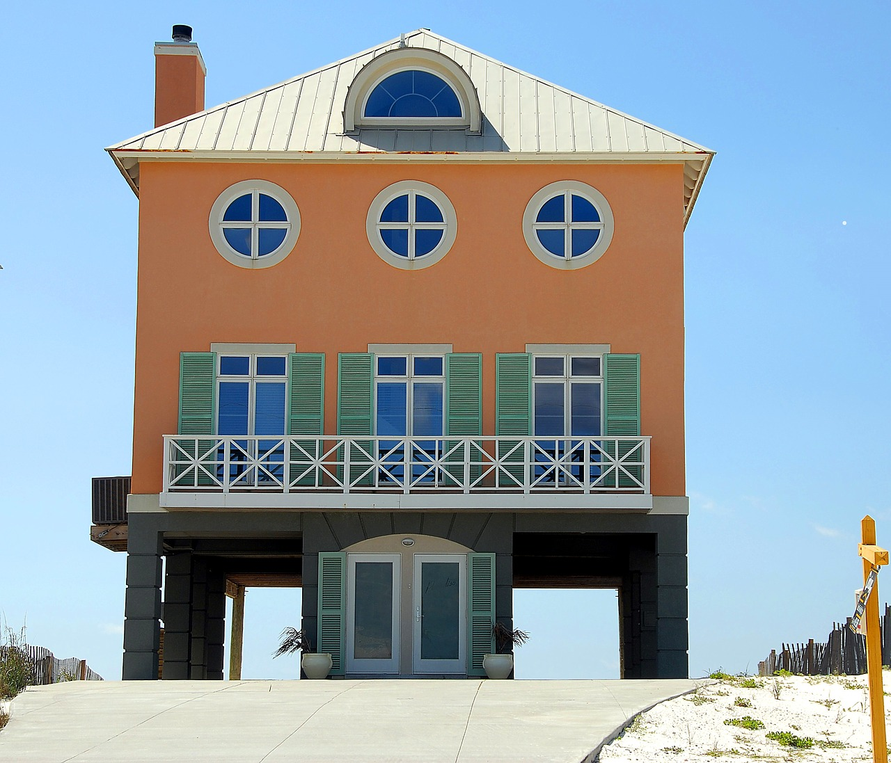 Florida,beach home,house,real estate,coastline - free photo