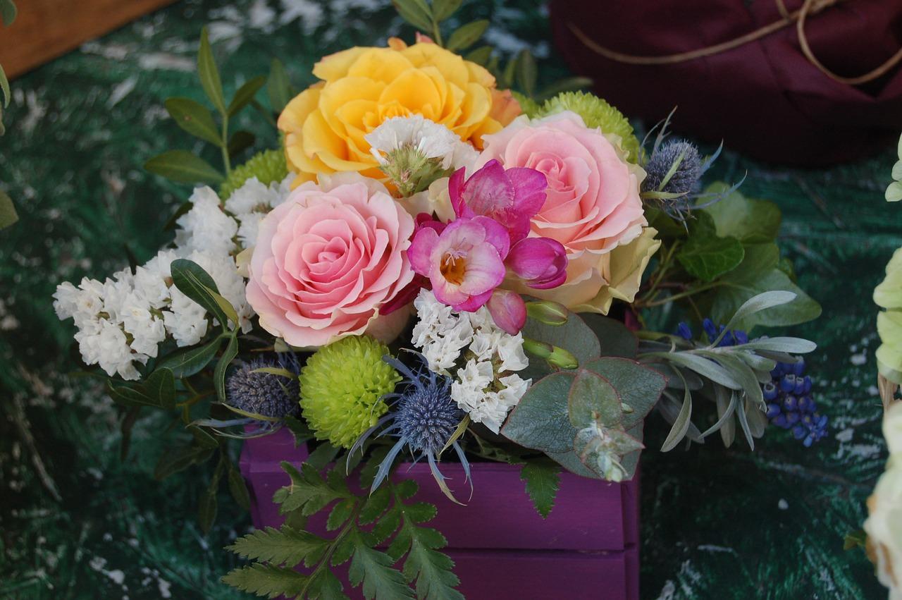 Bouquet De Fleur Pour St Valentin flower,bouquet de fleurs,plant,floral,leaf - free image from