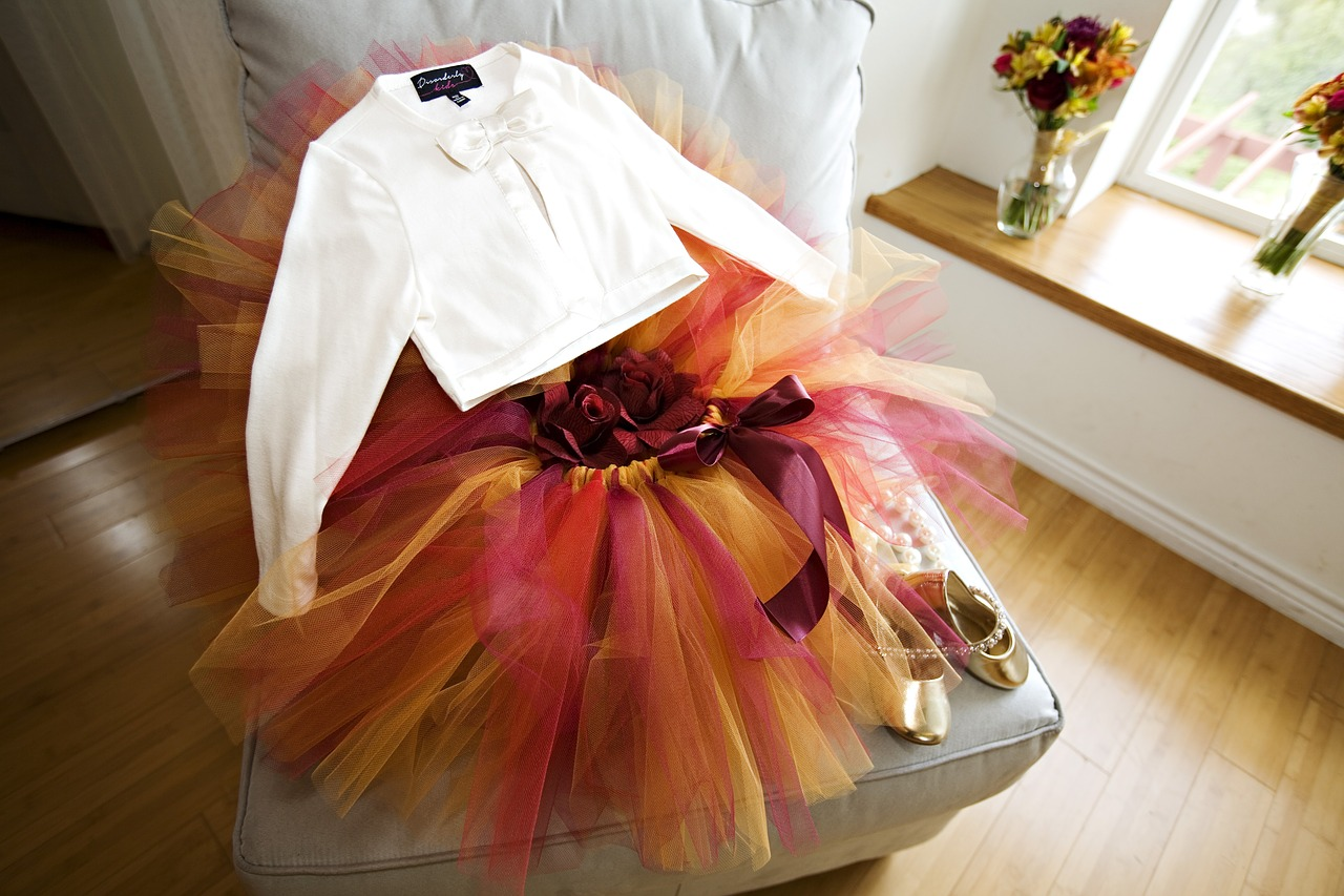 flower girl tutu child free photo