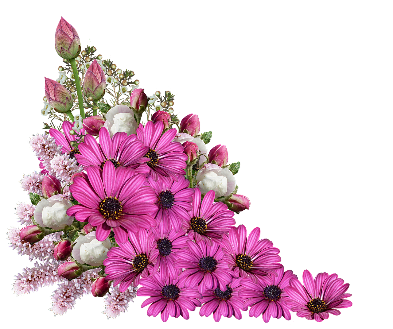 flowers bouquet decoration free photo