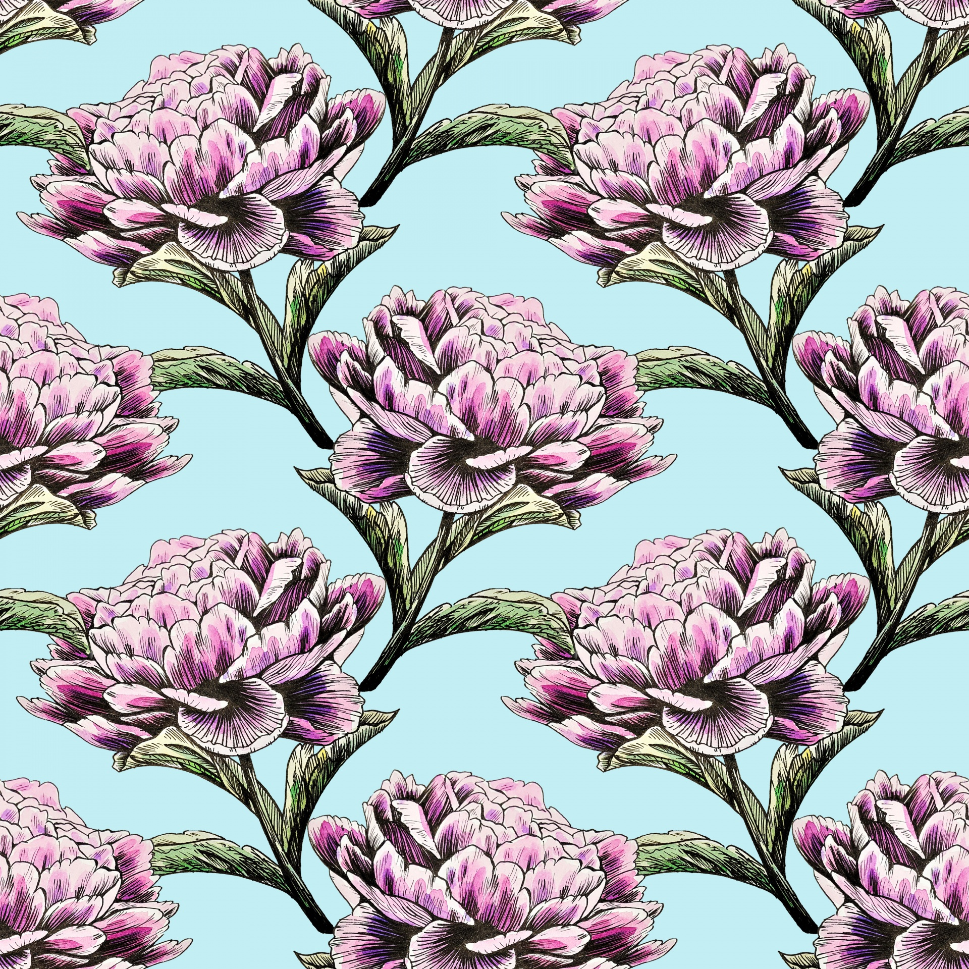 Flowers Floral Background Peony Peonies Free Image From Needpix Com