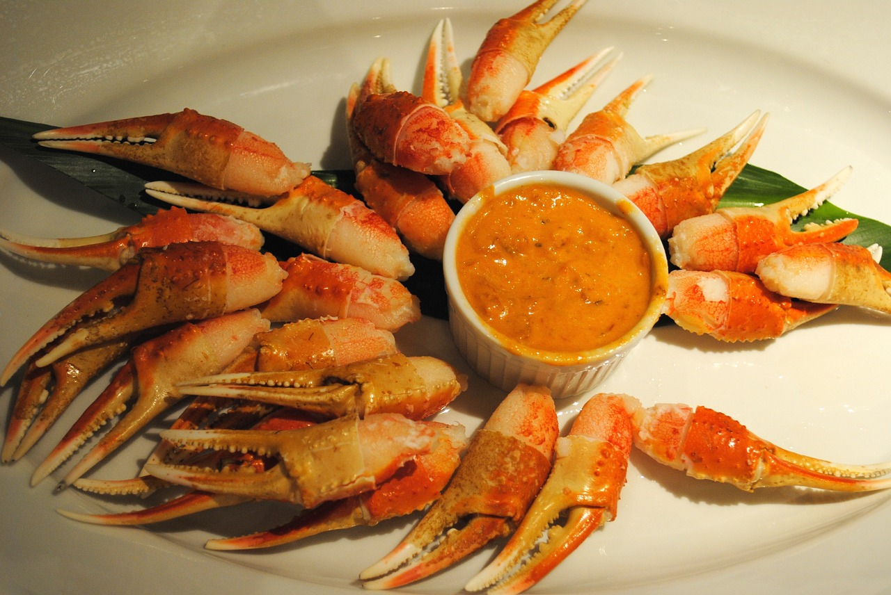 food appetizer crab free photo