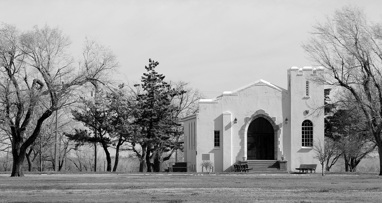 fort reno chapel historic free photo