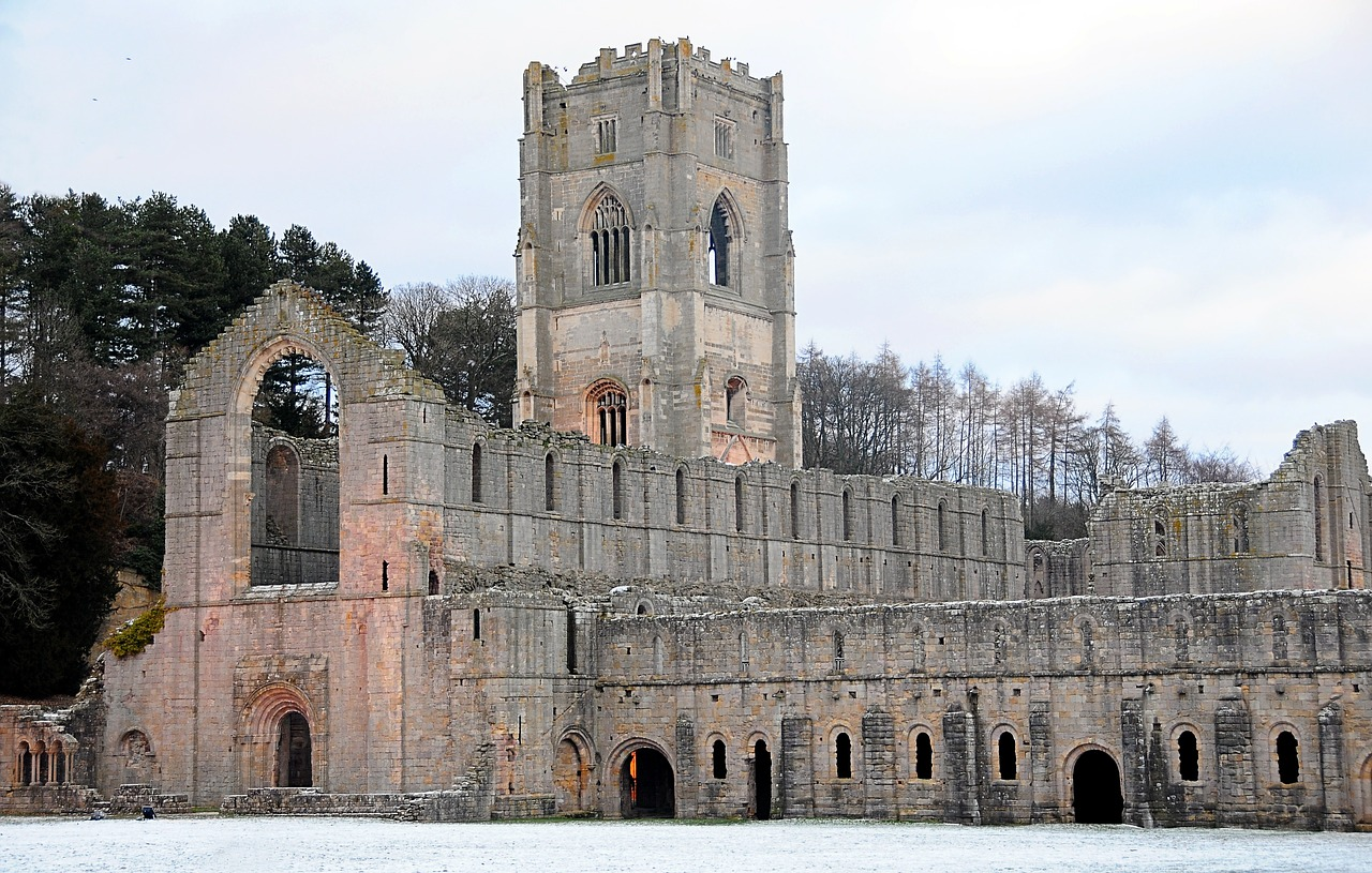 fountains abbey cistercian free photo
