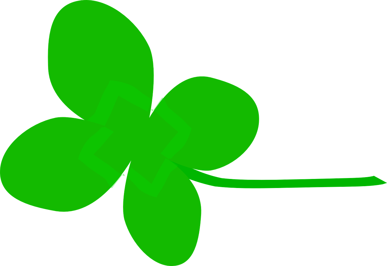 four leaf clover green free photo