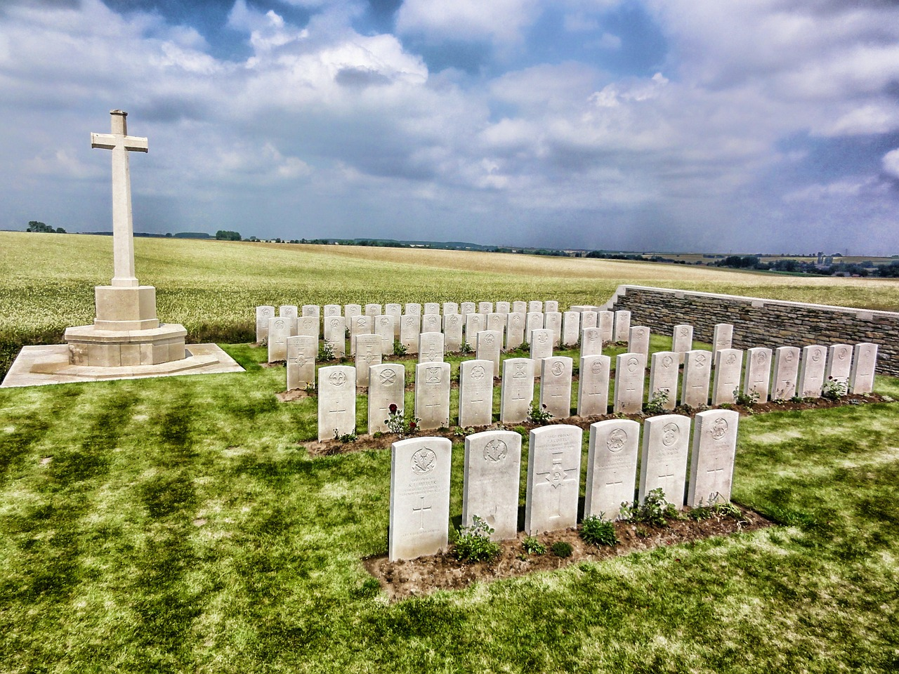 france landscape cemetery free photo