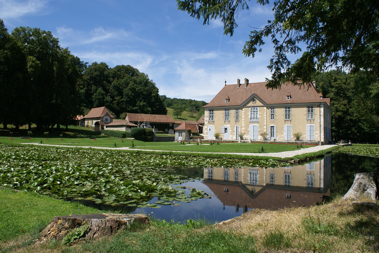 france isere manor free photo