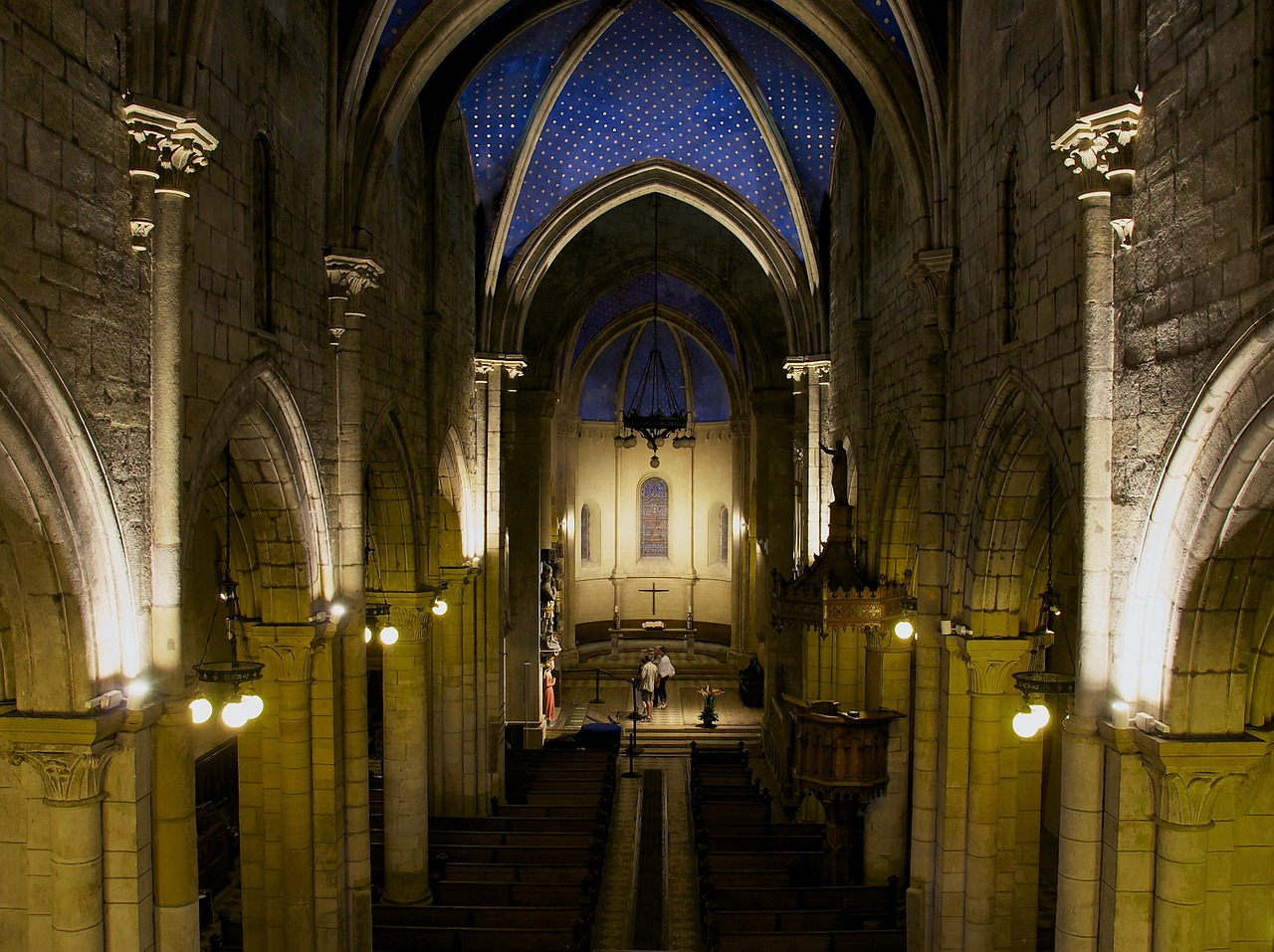 france church interior free photo