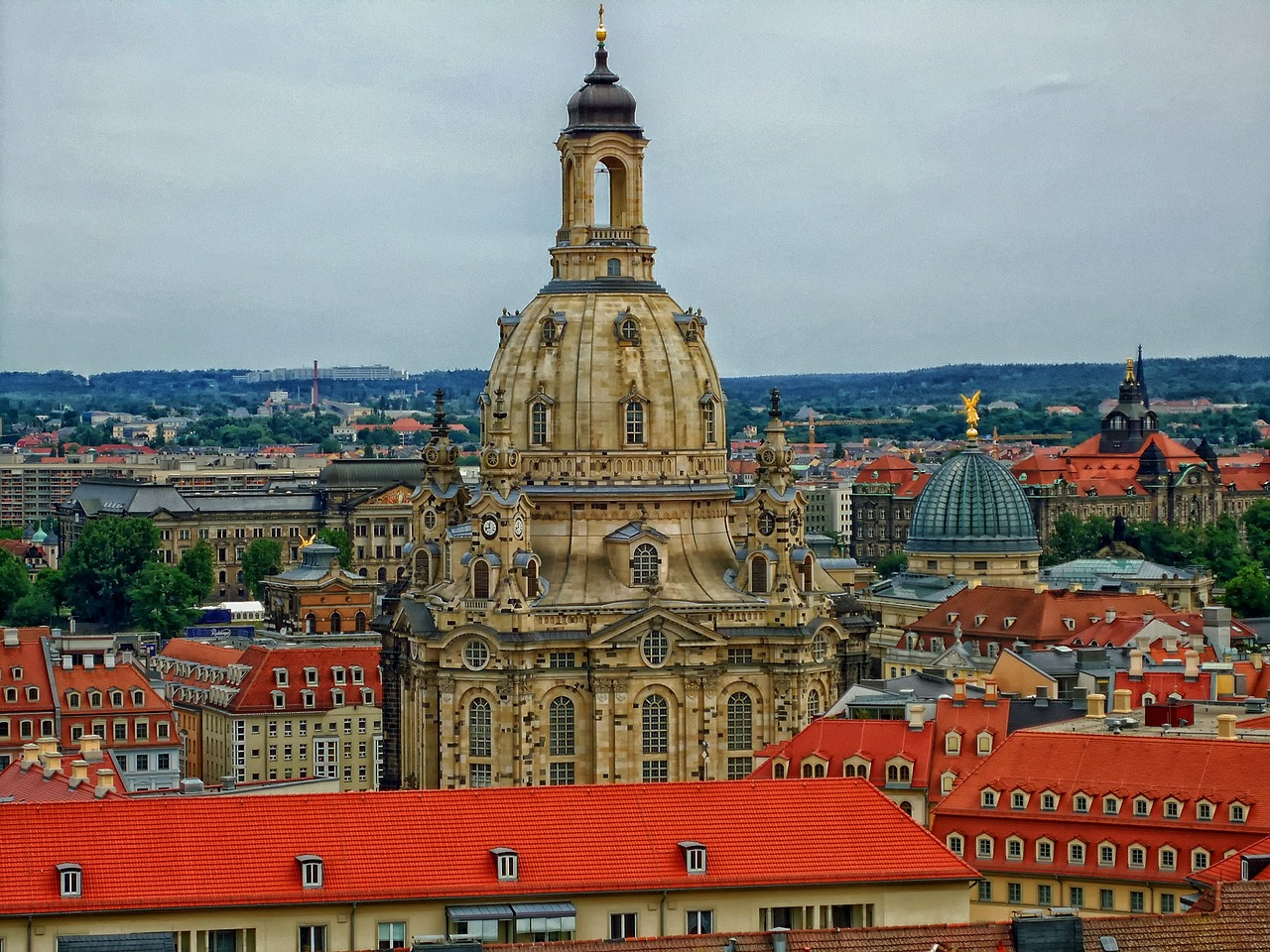 frauenkirche dresden germany free picture