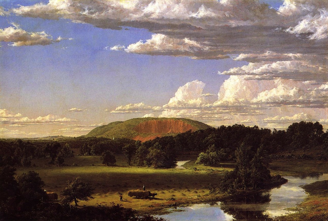 frederic church painting art free photo