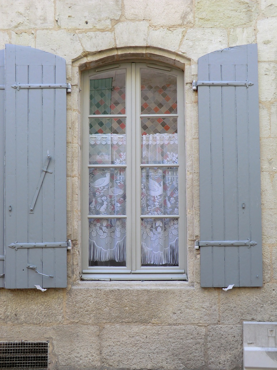 French Window Shutters Architecture Free Pictures Free