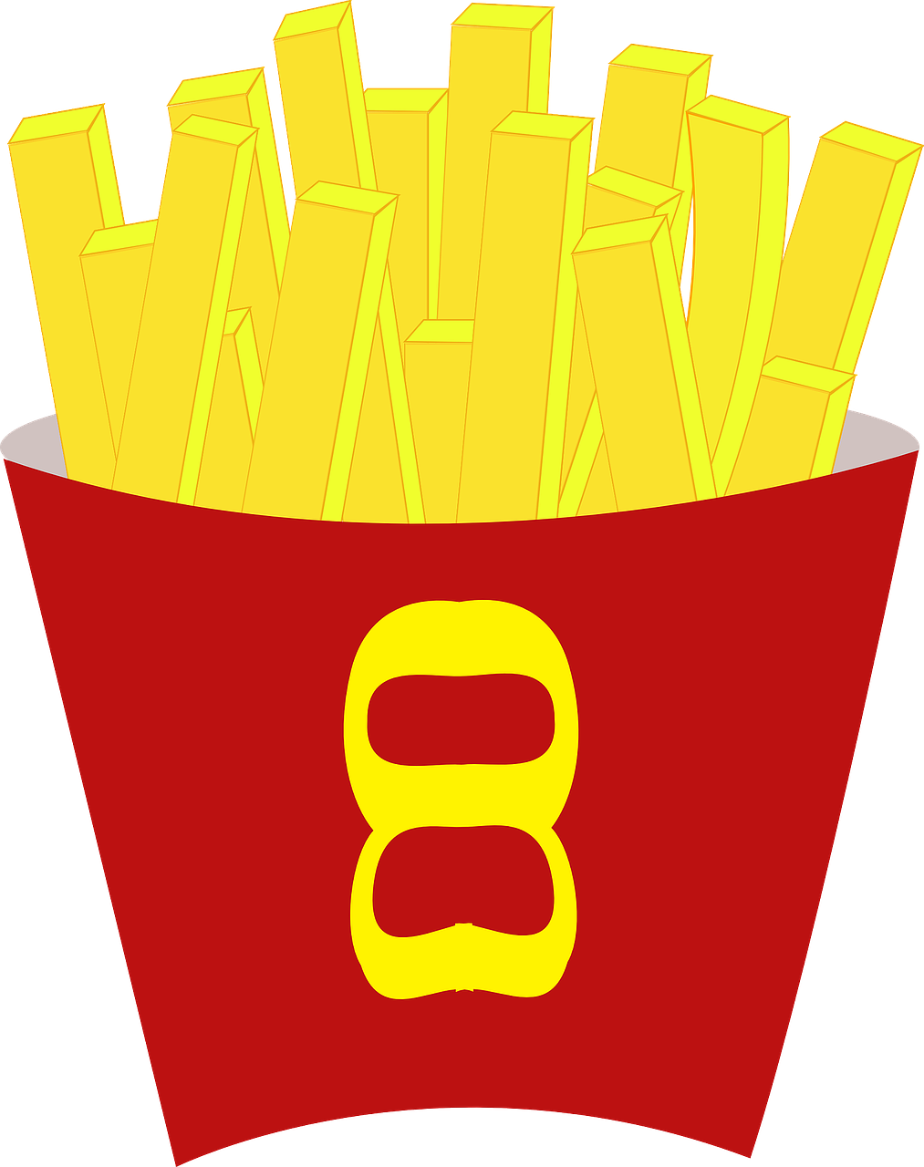 french,fries,food,potato,fried,meal,snack,tasty,junk,free vector graphics,free pictures, free photos, free images, royalty free, free illustrations, public domain