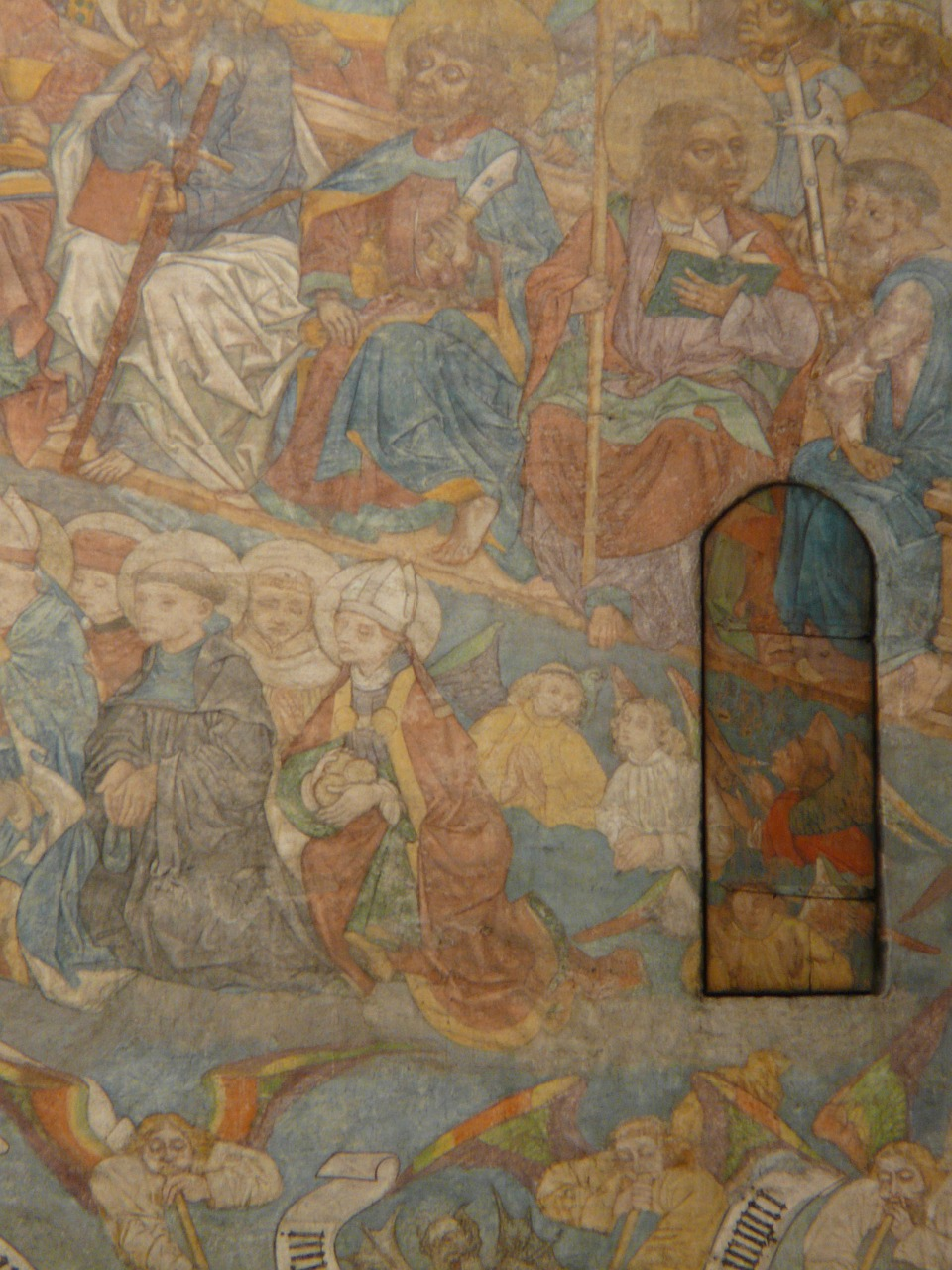 fresco the most recent court ulm cathedral free photo