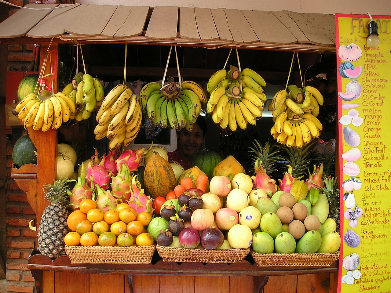 fruit fruits fruit stand free photo