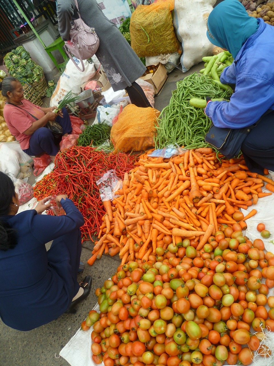 fruit vegetables market free picture