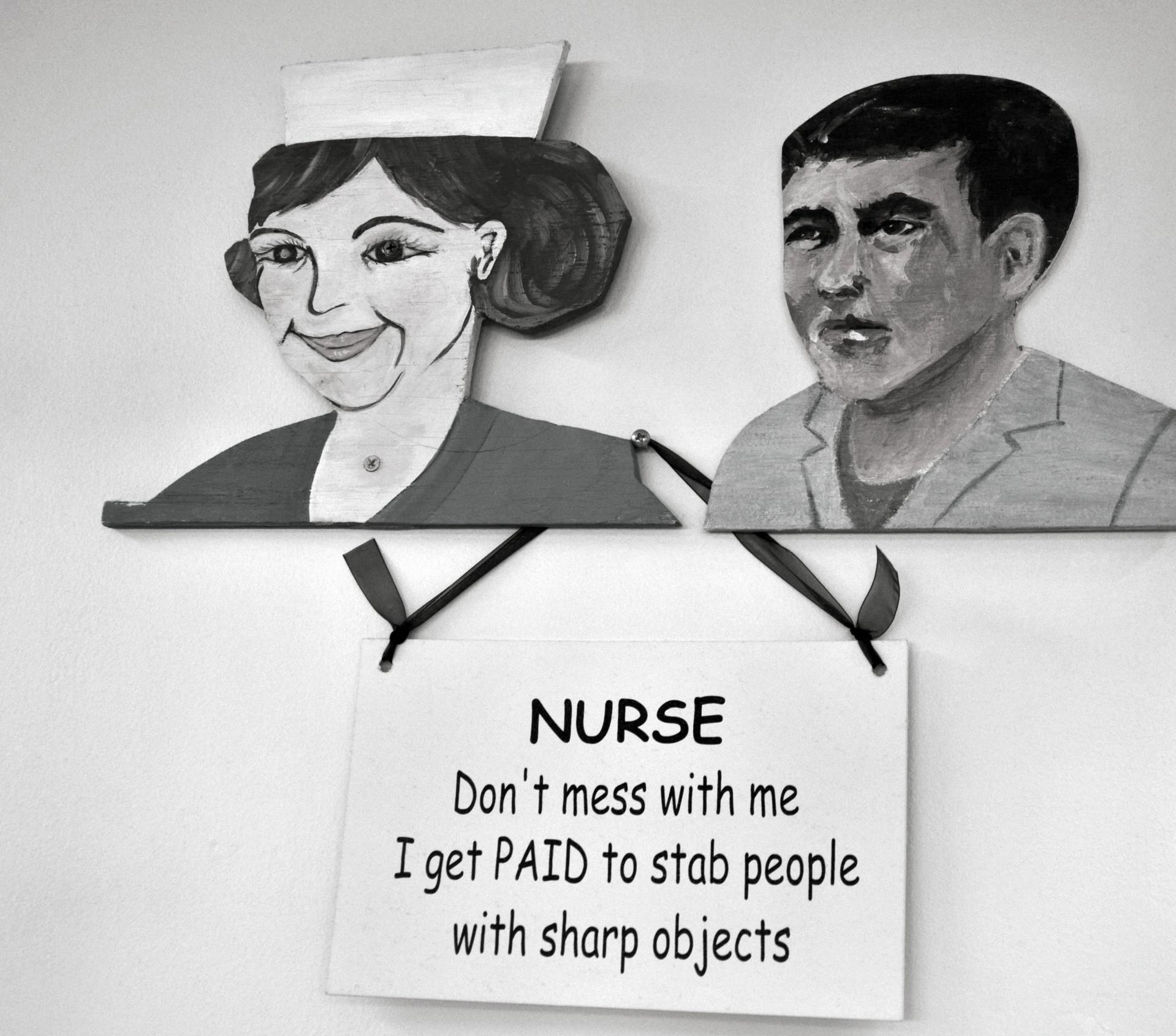 Funny Cartoon Hospital Pics funny,nurse,shots,hospital,patients - free image from