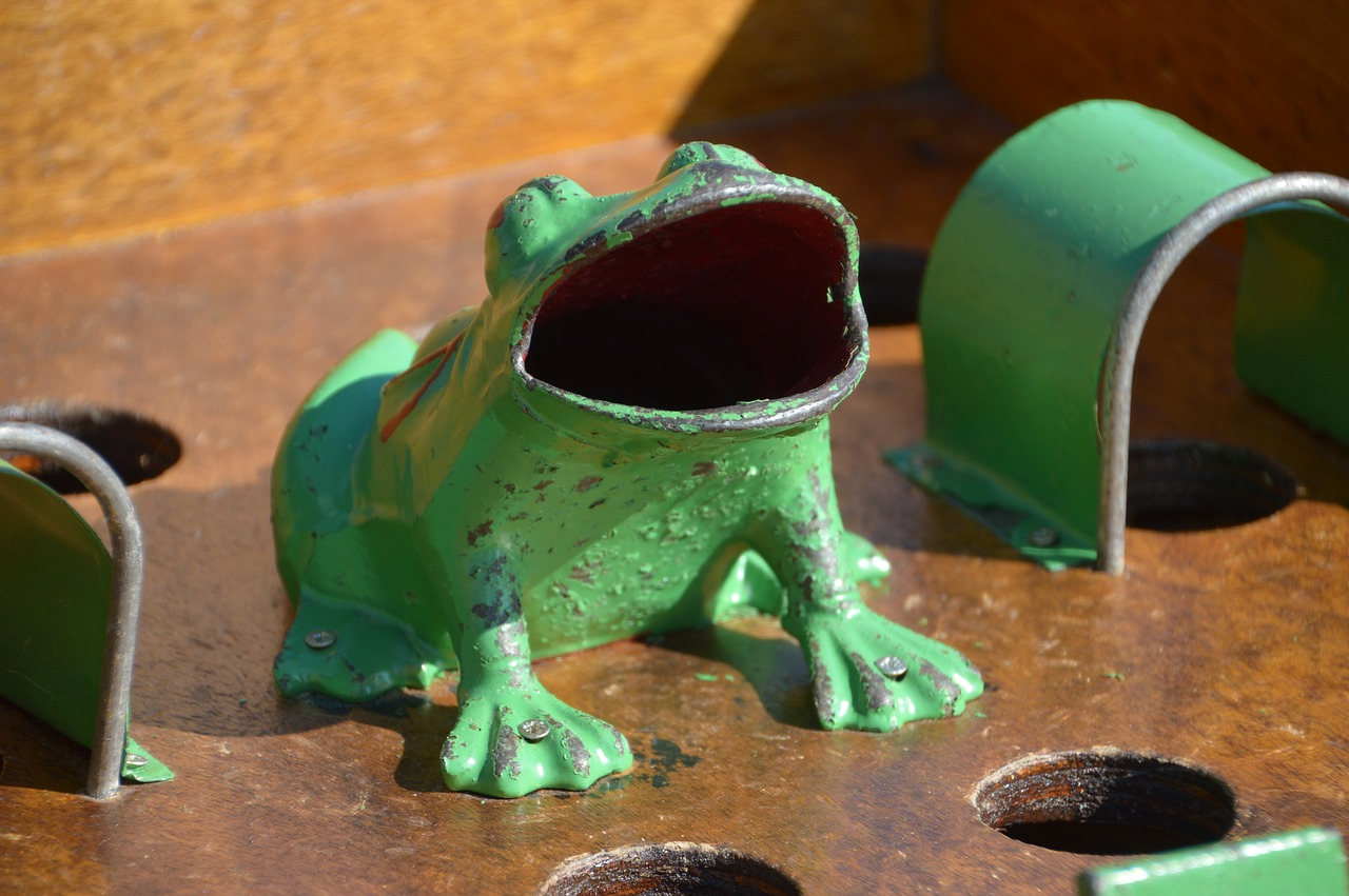 game frog  ancient game  pushover free photo