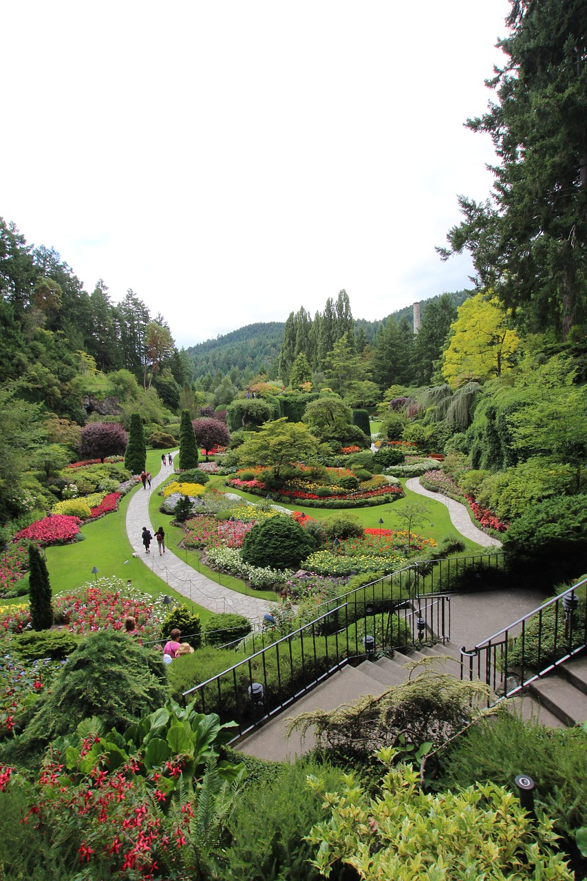 GARDEN LANDSCAPE NATURE SCENERY CANADA FREE PHOTO FROM