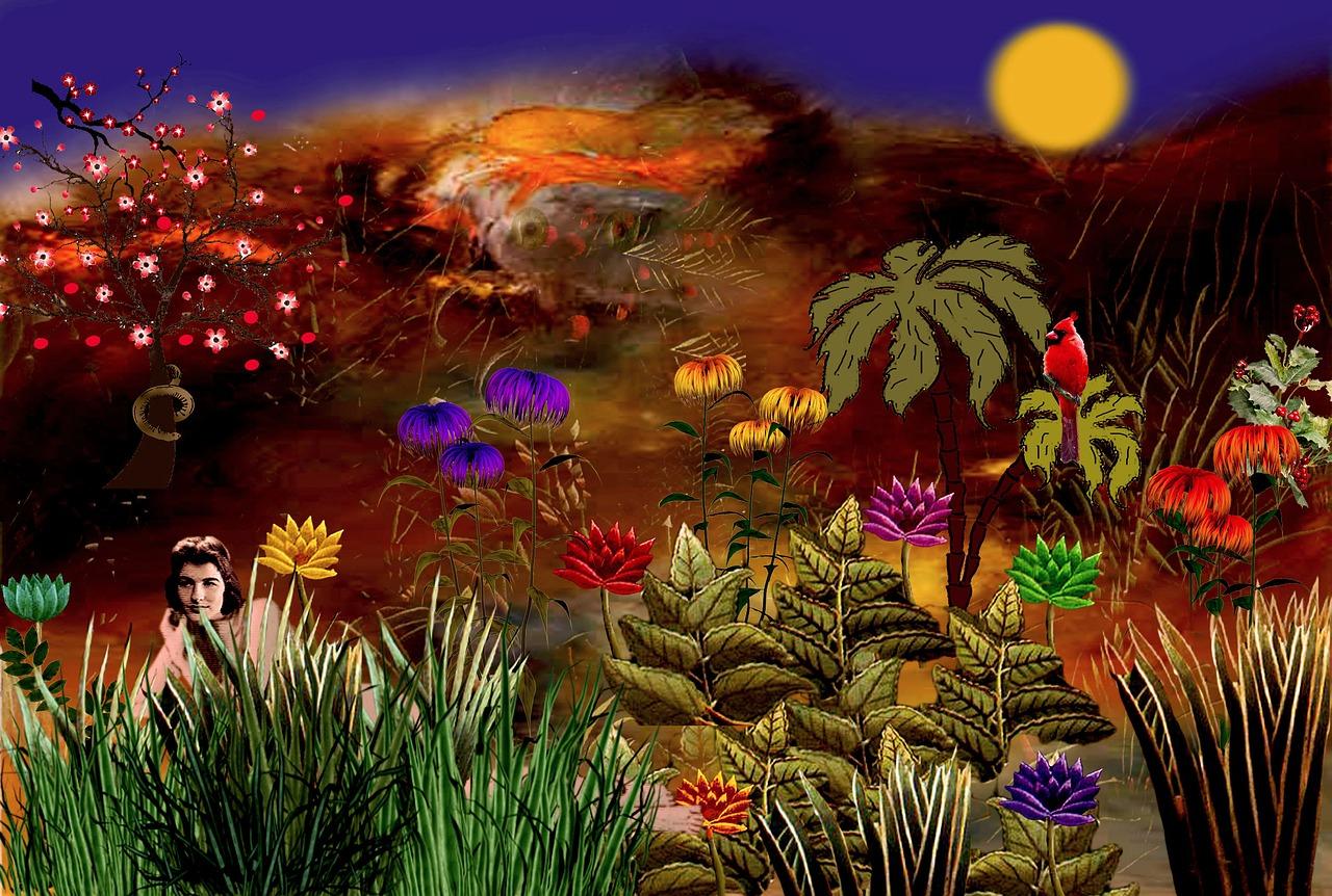 Garden,eden,colorful,flowers,plant - free photo from needpix.com