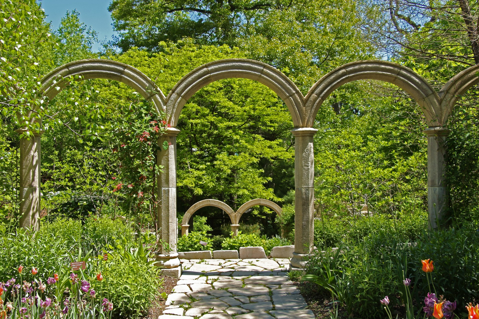 Garden Decor Decorative Arch Stone Arch Free Image From