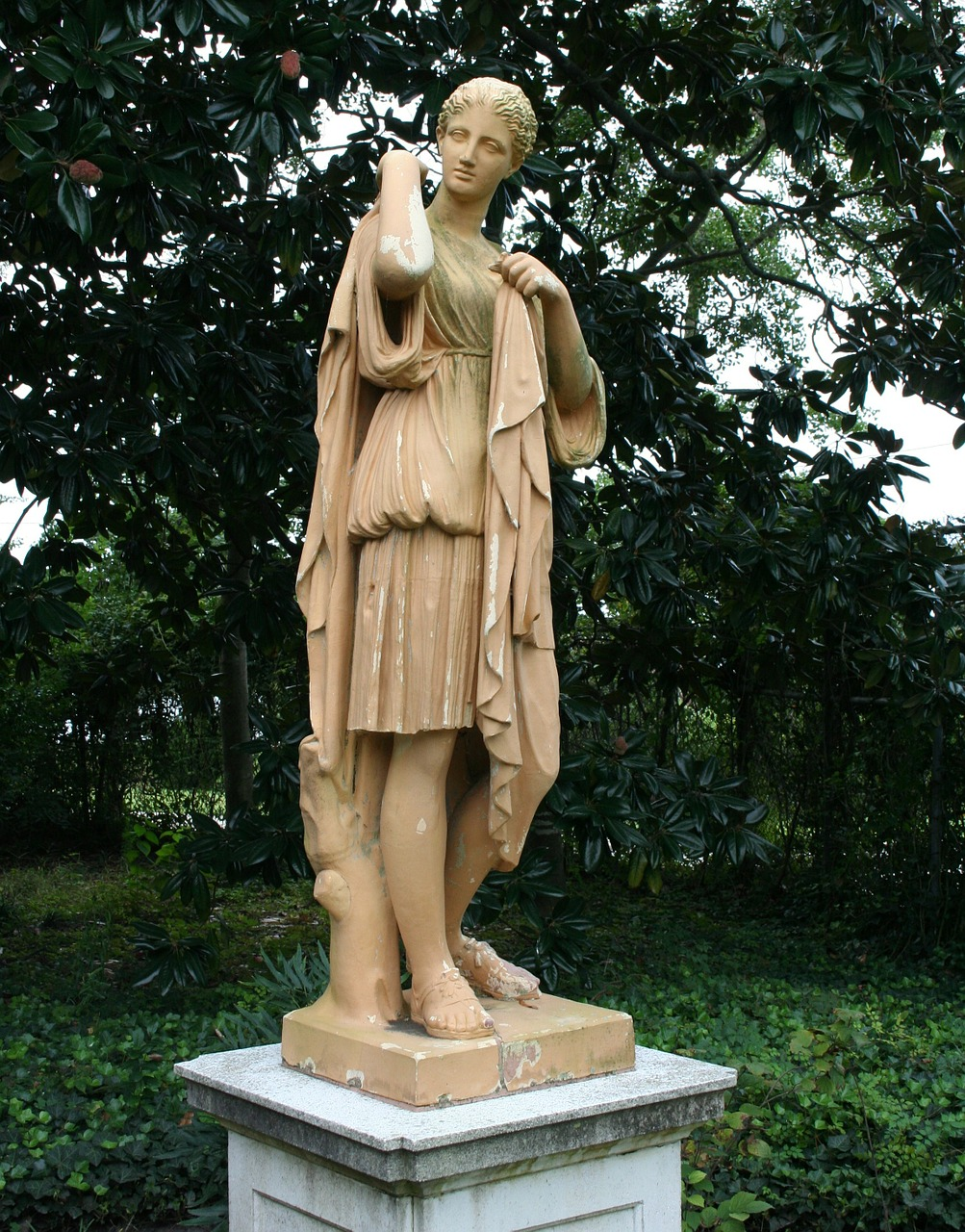 garden statue sculpture terracotta free photo