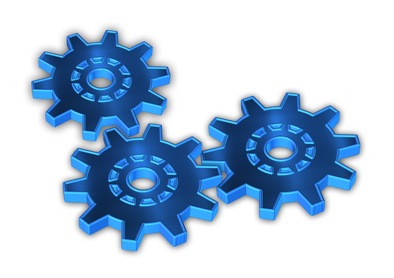 gears function together free photo