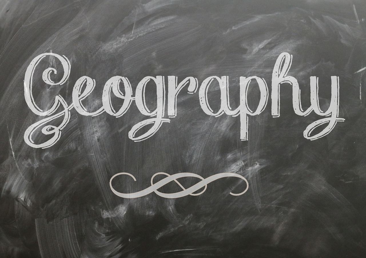 geography blackboard chalk free photo