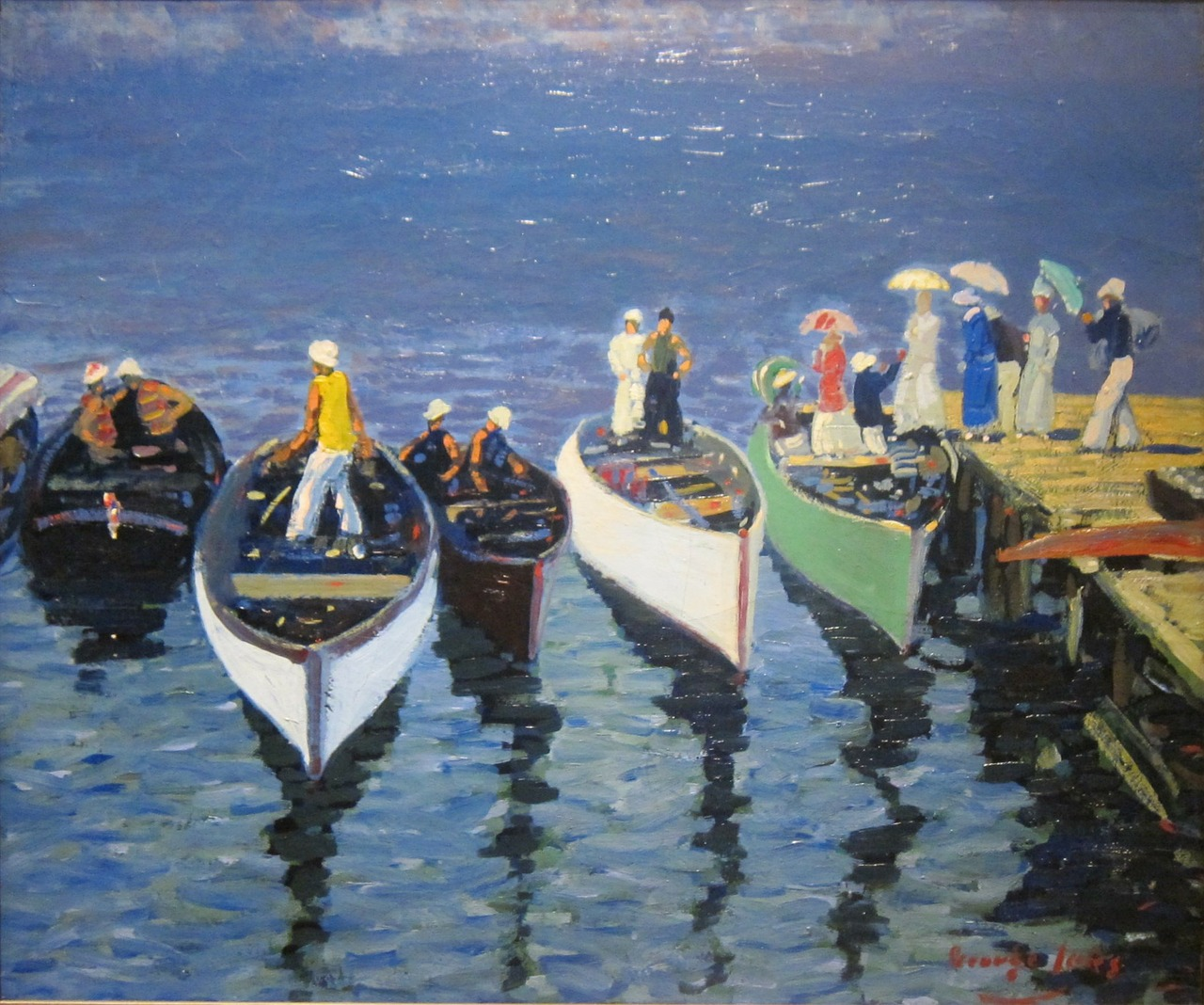 george luks art painting free photo