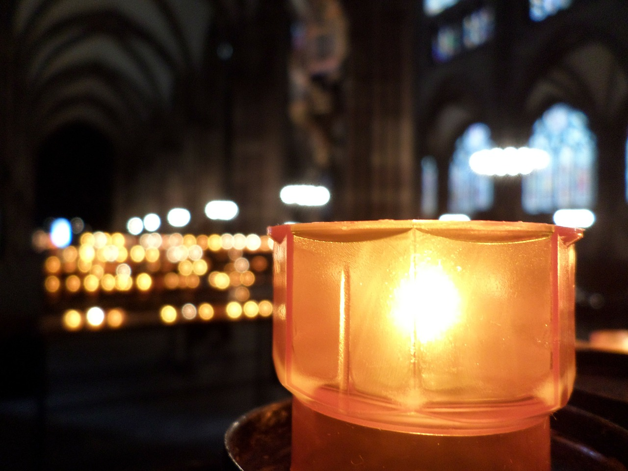 germany cathedral candlelight free photo