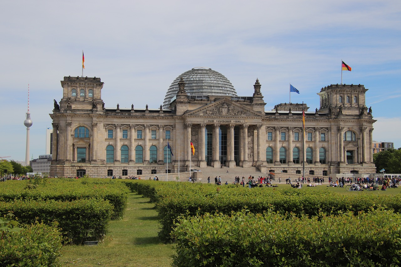 germany  berlin  reichstag free photo