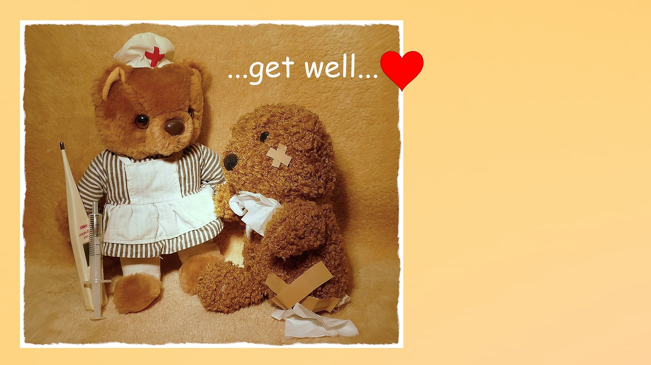 Get Well Soonrecoverywishes For A Speedy Recoverymapteddy Bears