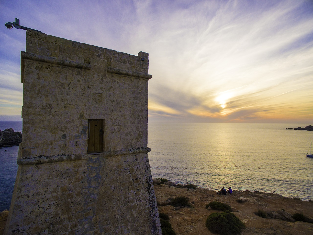 ghajn tuffieha malta watch tower coastal tower free photo