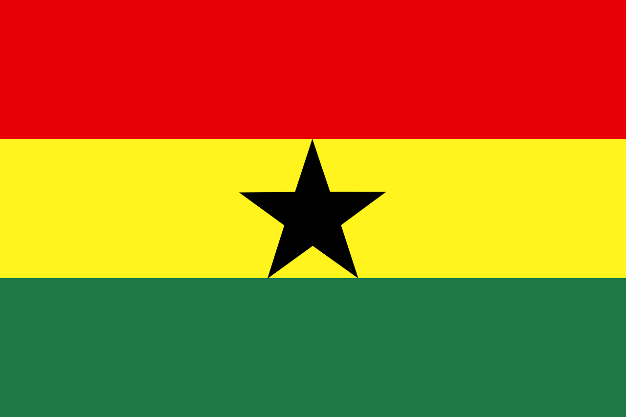 ghana flag symbol free photo