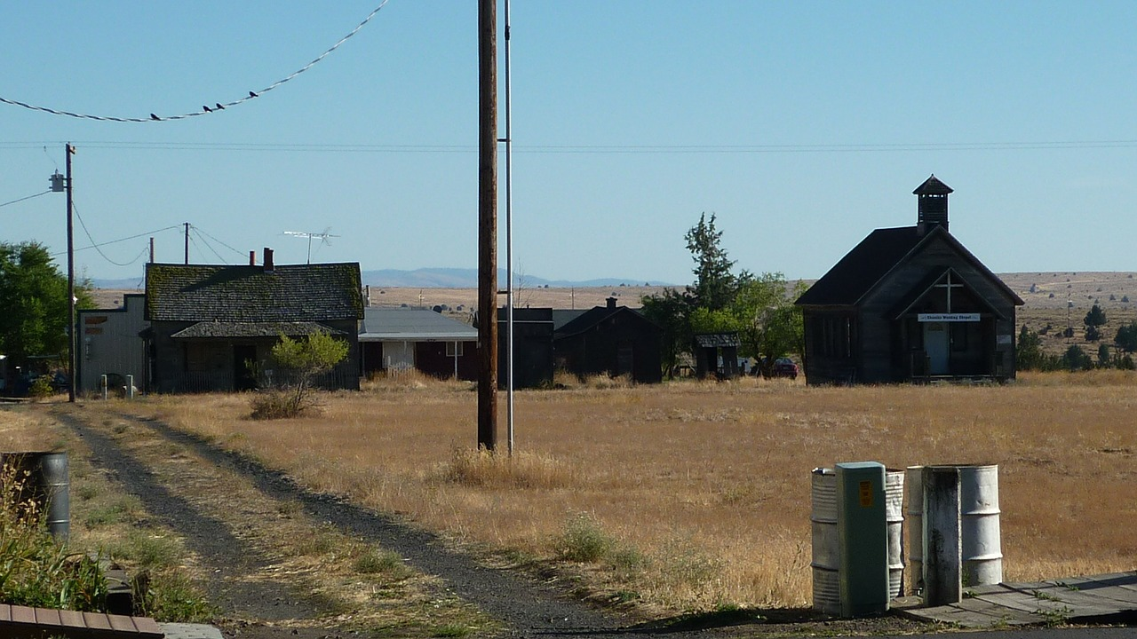 ghost town shaniko oregon free photo