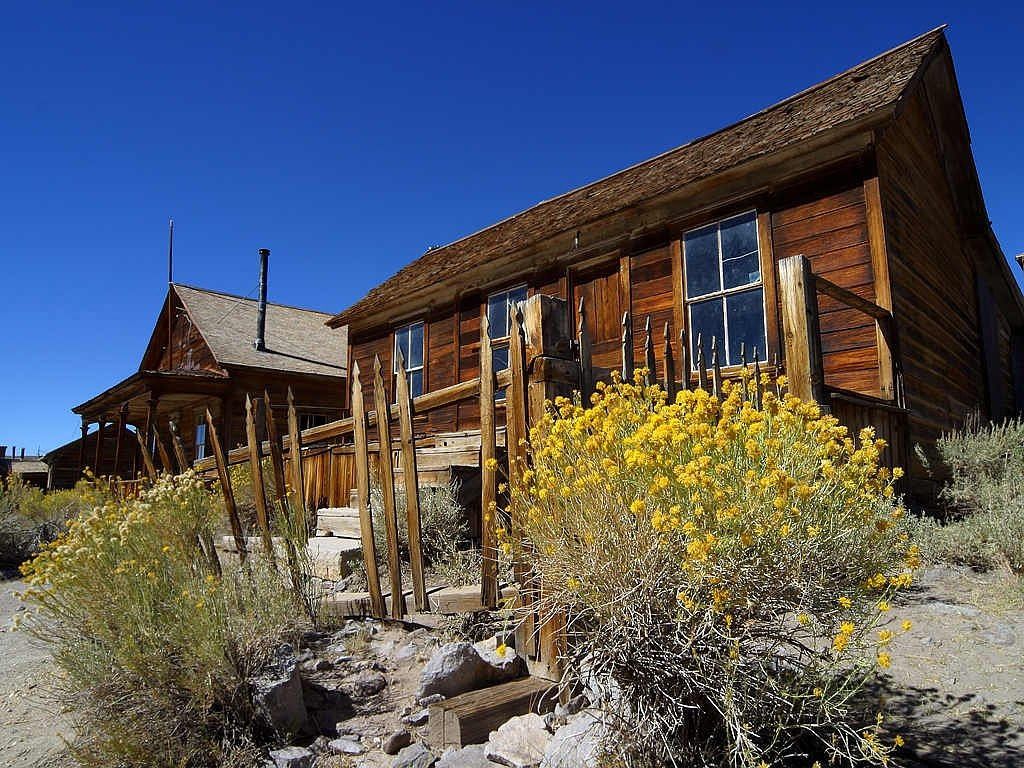 ghost town bodie wild west free photo