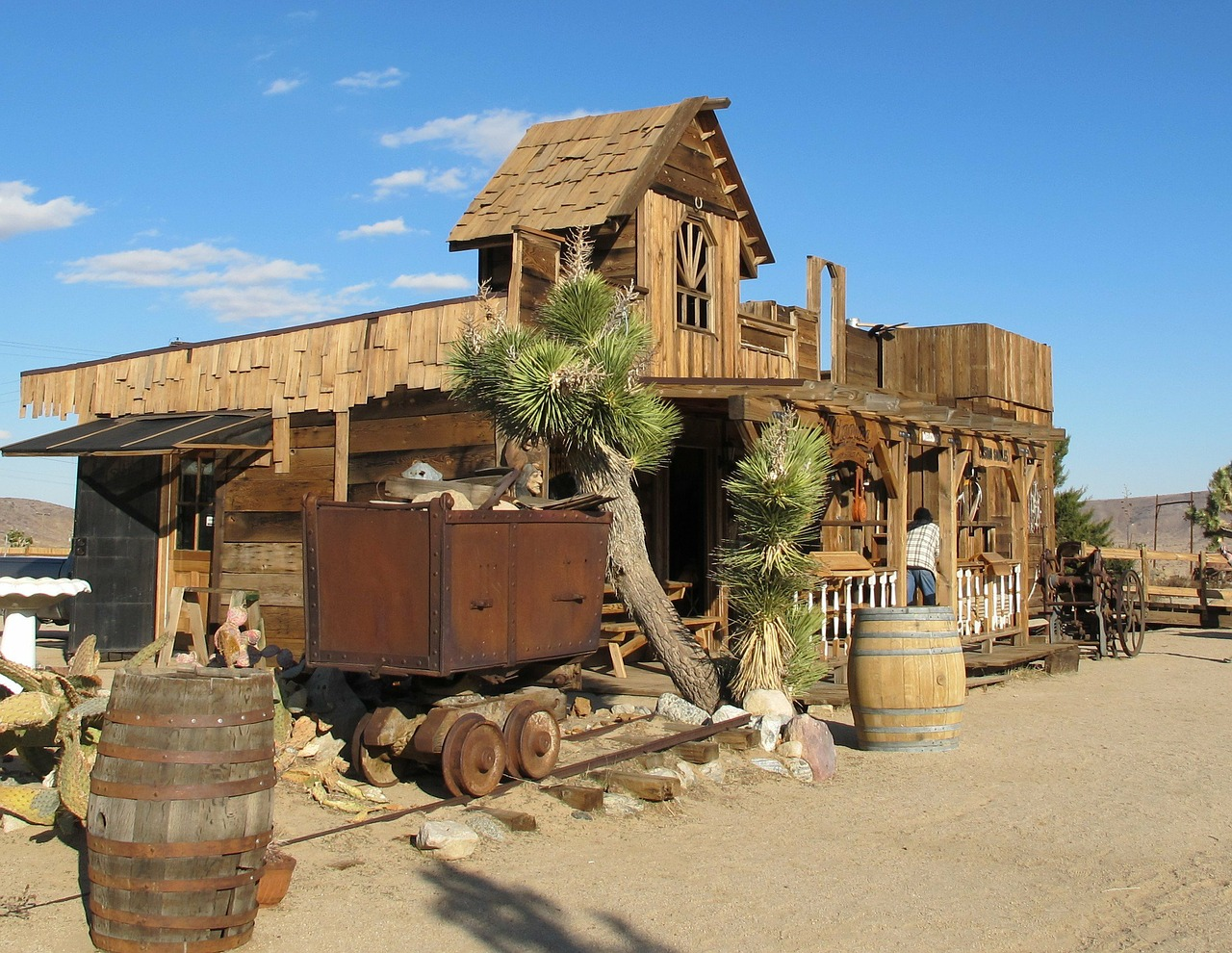 ghost town california mojave desert free picture