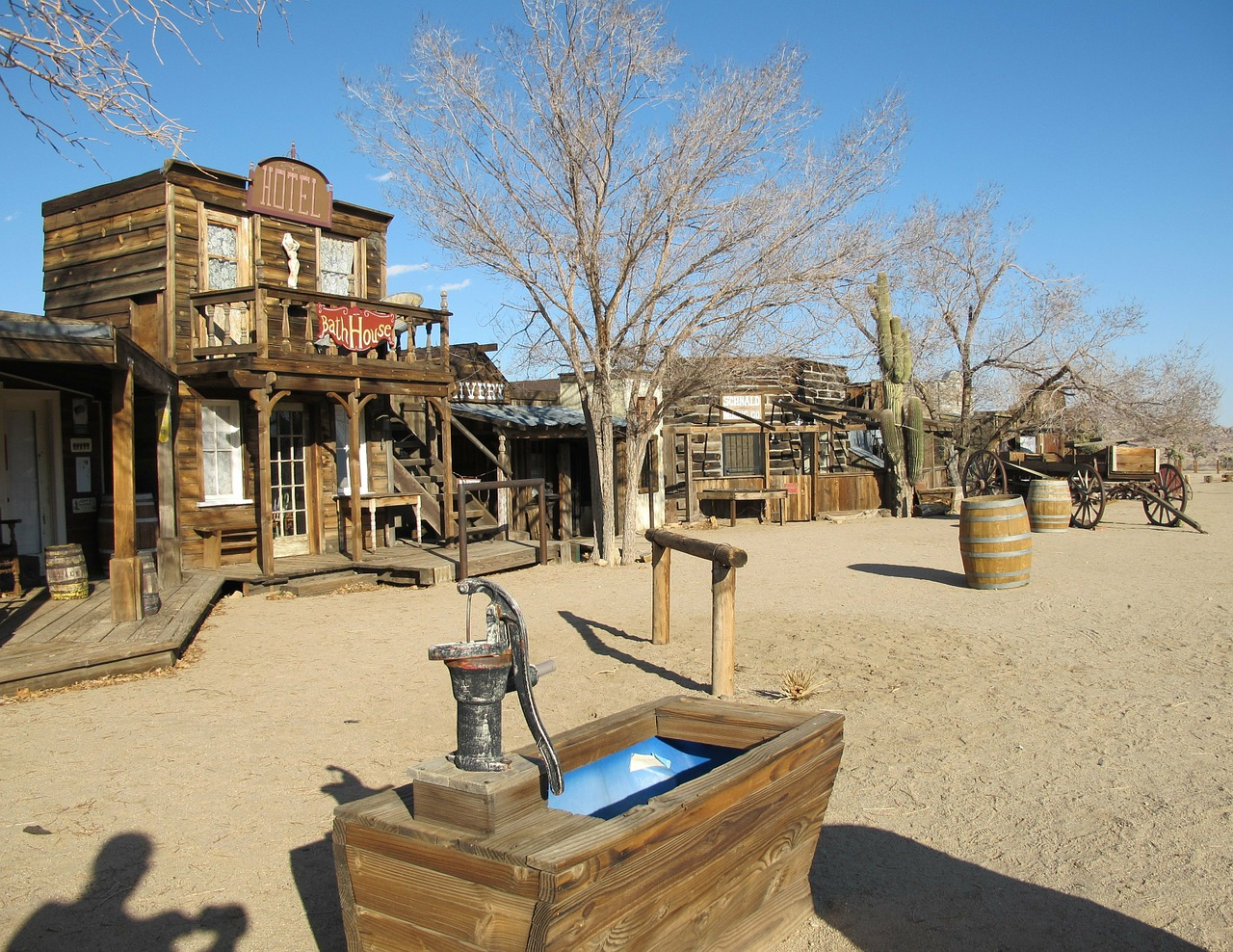 ghost town pioneertown california free photo