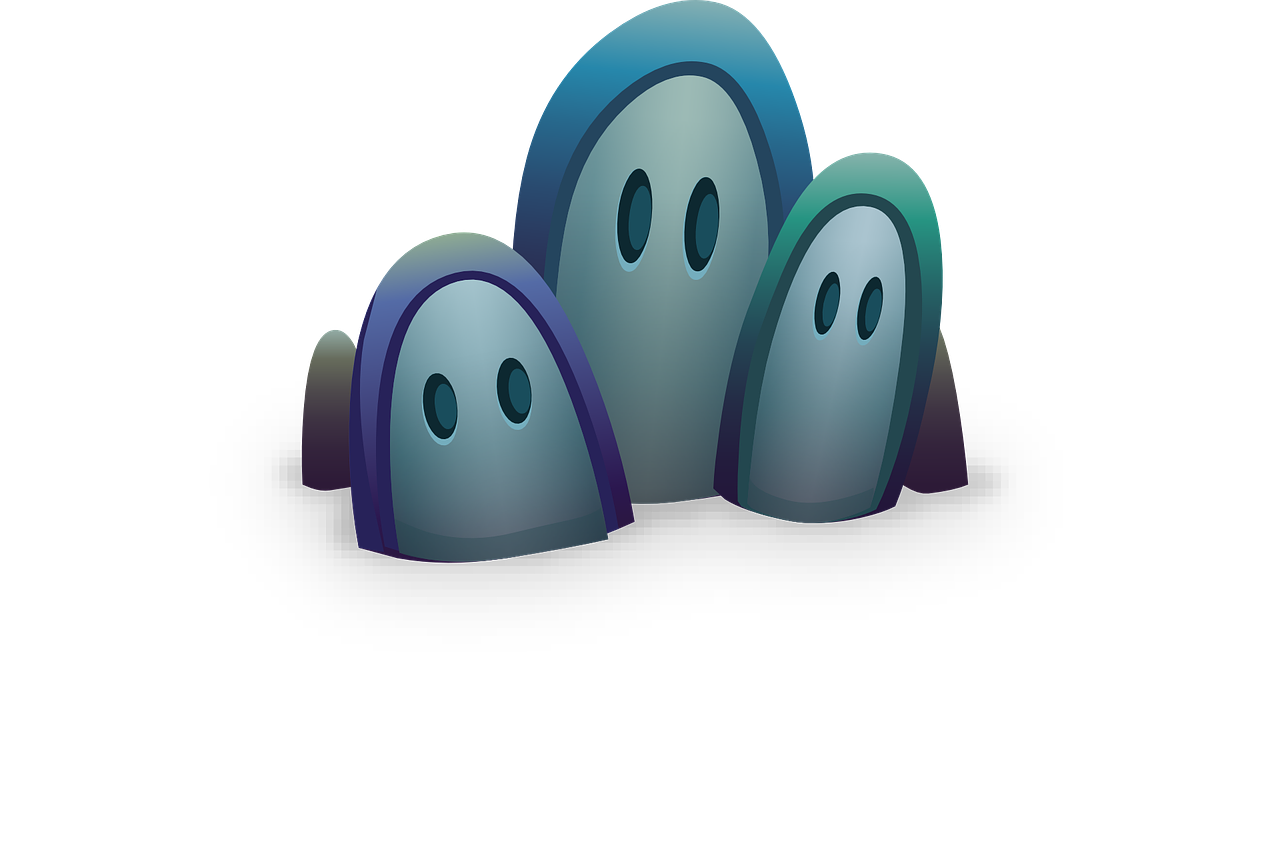 ghosts eyes halloween free photo