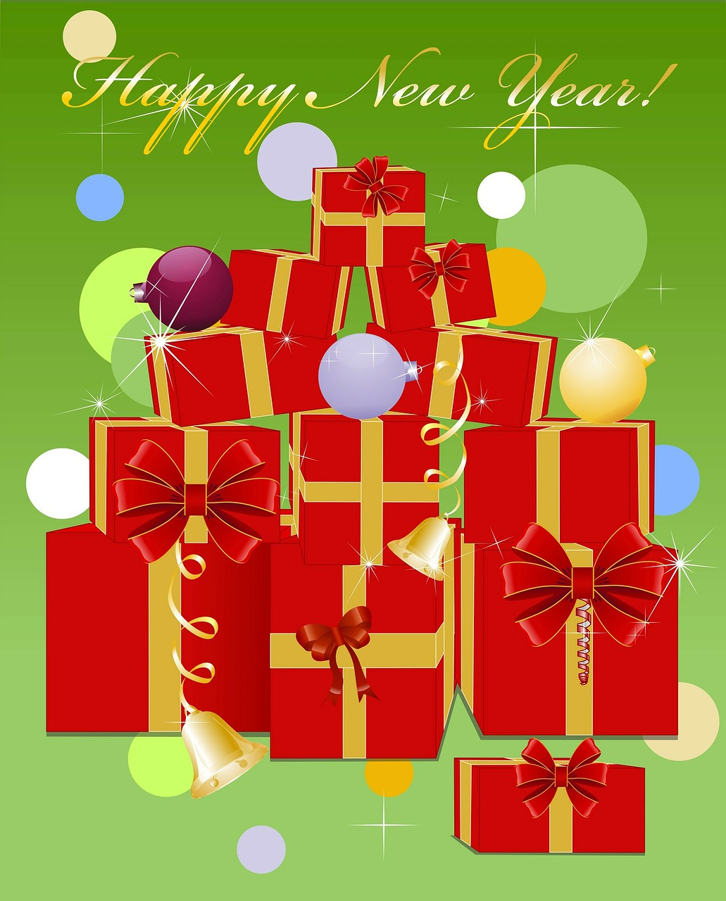 gifts new year holiday free photo