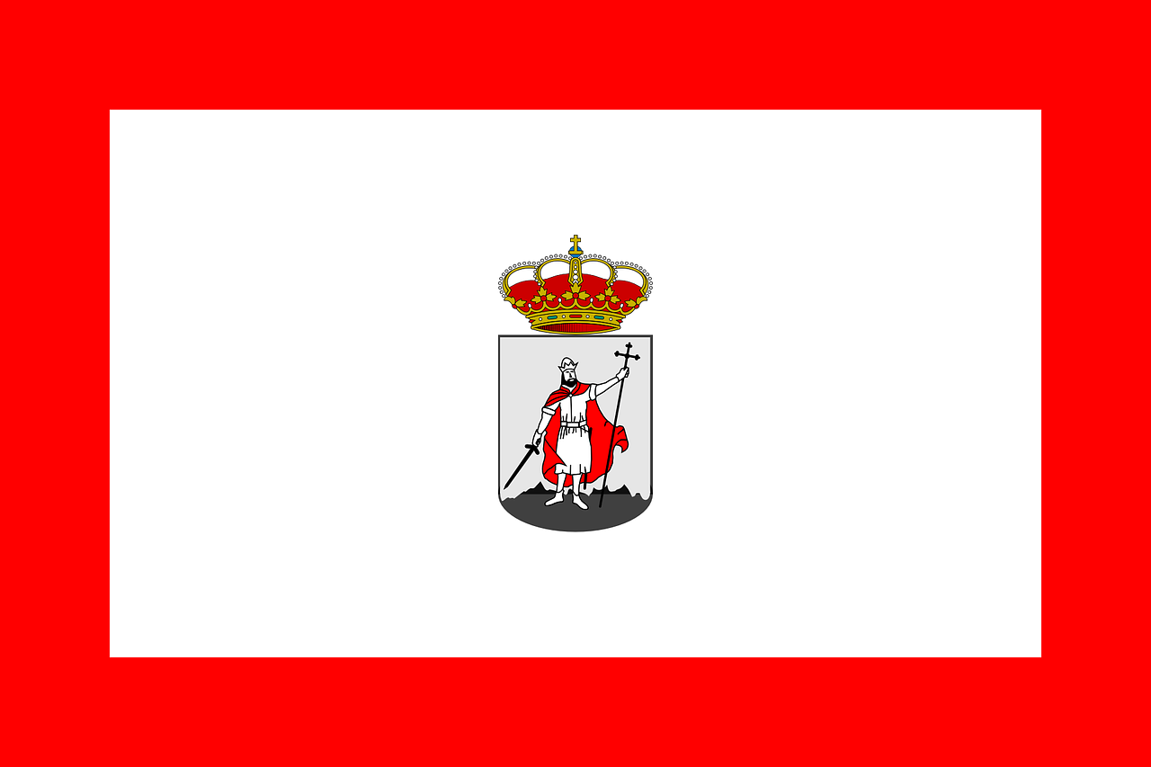 gijon,flag,city,asturies,spain,europe,free vector graphics,free pictures, free photos, free images, royalty free, free illustrations, public domain