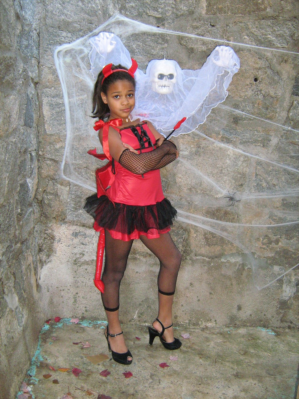 girl halloween ghost free photo