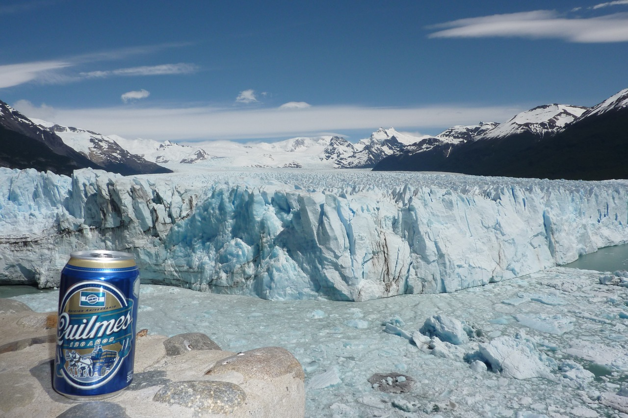 glacier  beer  patagonia free photo
