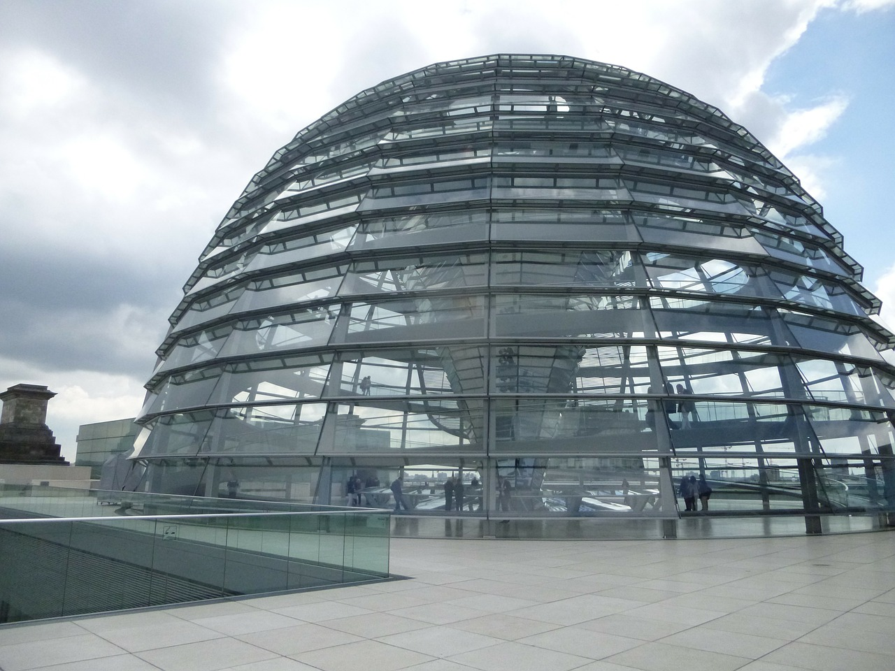 glass dome bundestag reichstag free photo