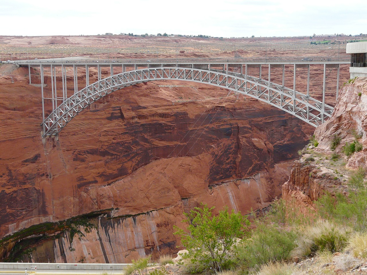 glen canyon bridge glen canyon u s highway 89 free photo