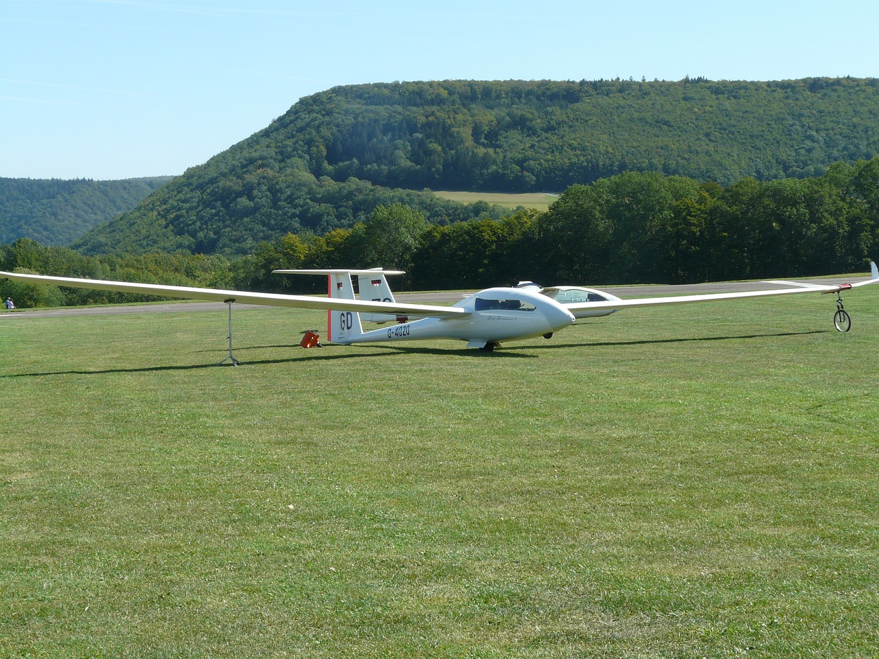 glider fly aircraft free photo