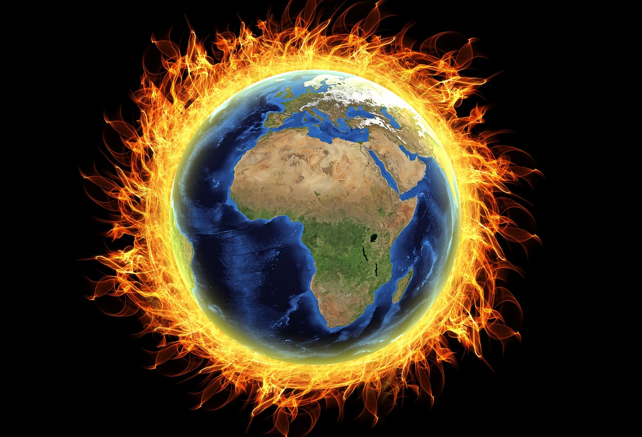 Download free photo of Global warming,burning  earth,burning,destruction,temperature - from needpix.com