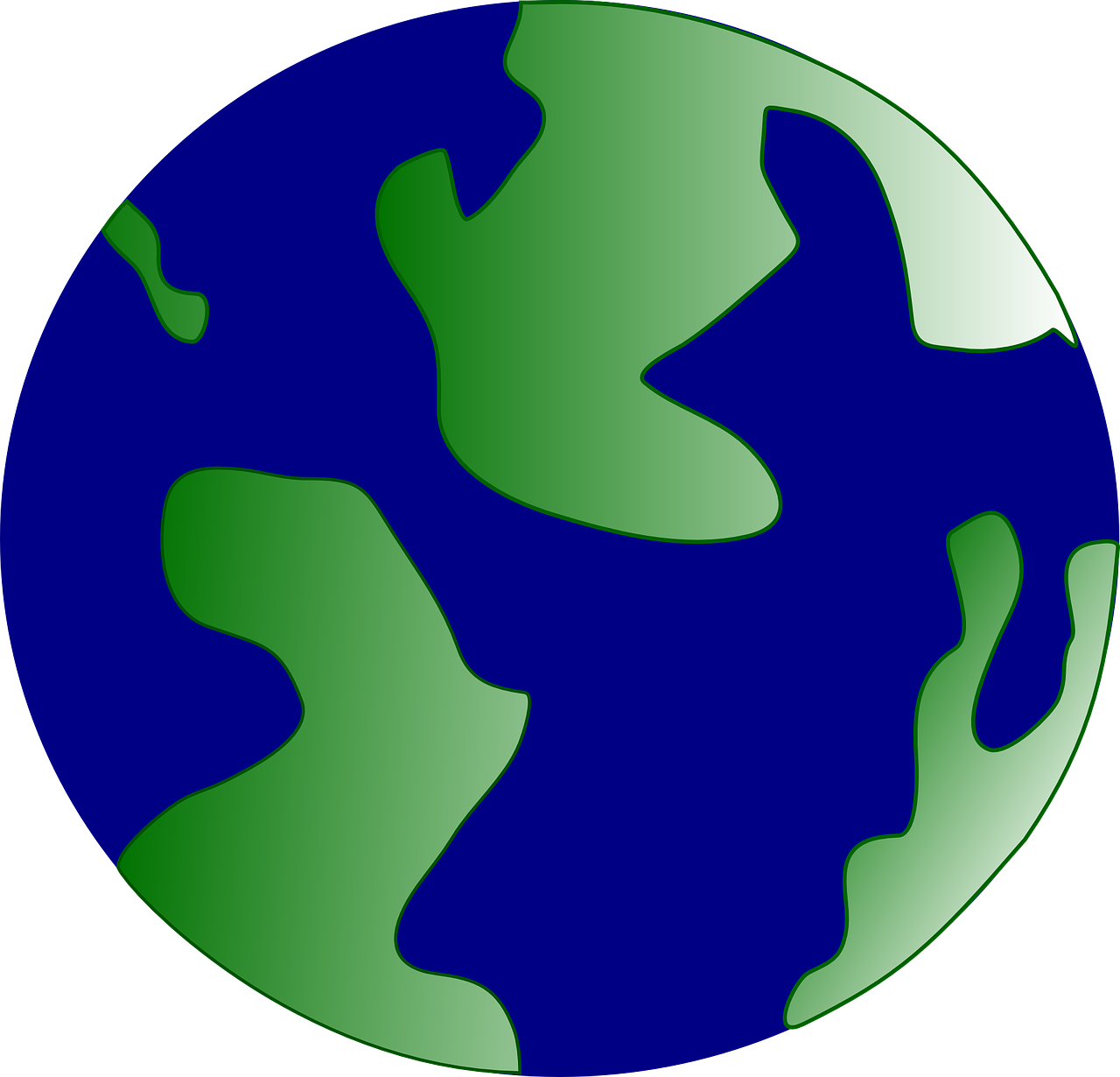 globe world map free photo