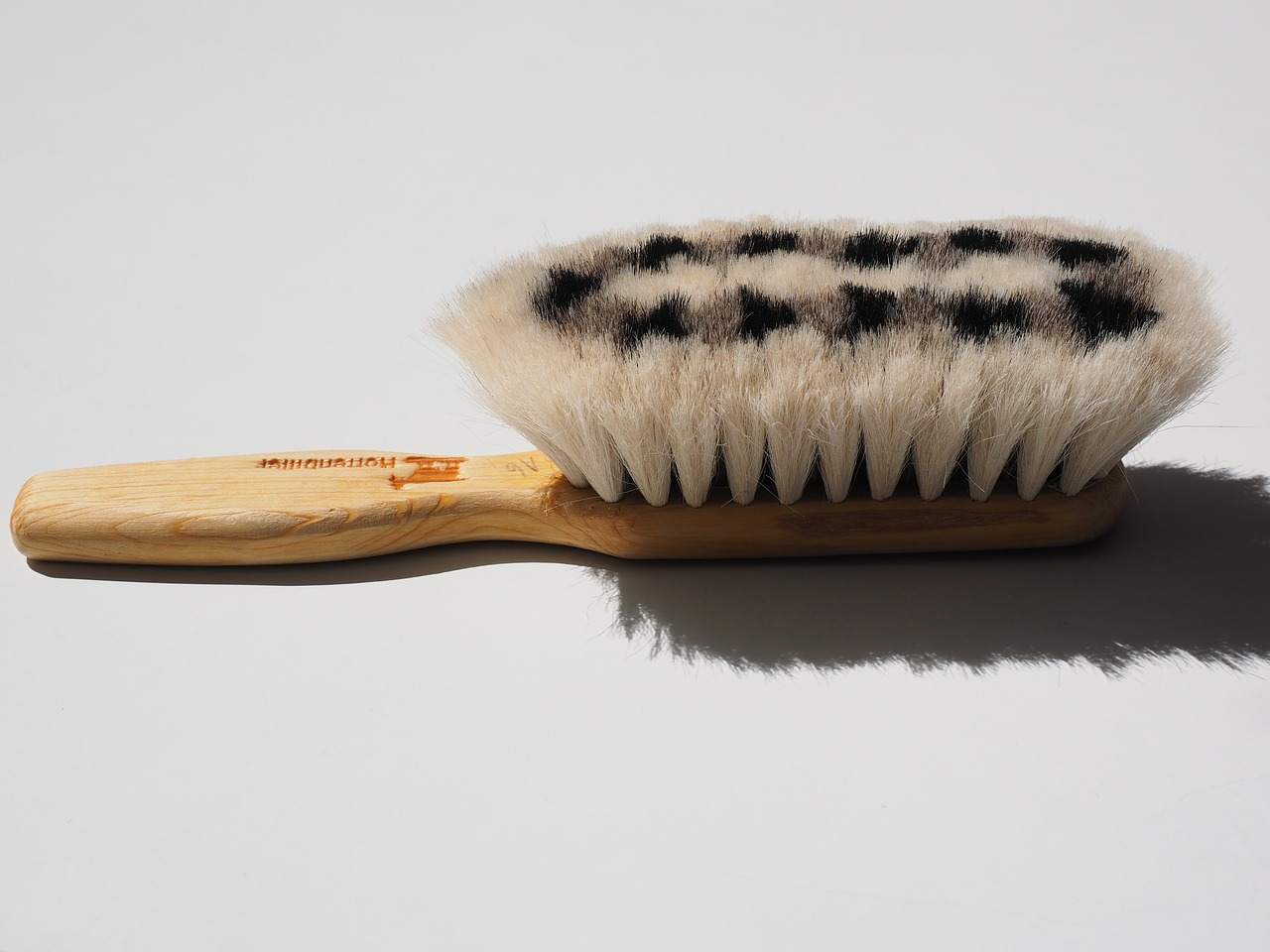 goat hair brush brush clean wipe feather duster free photo from