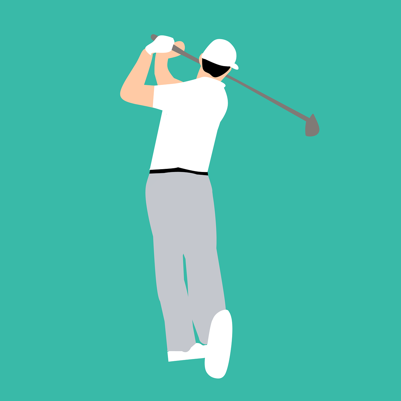 golf player playing free photo