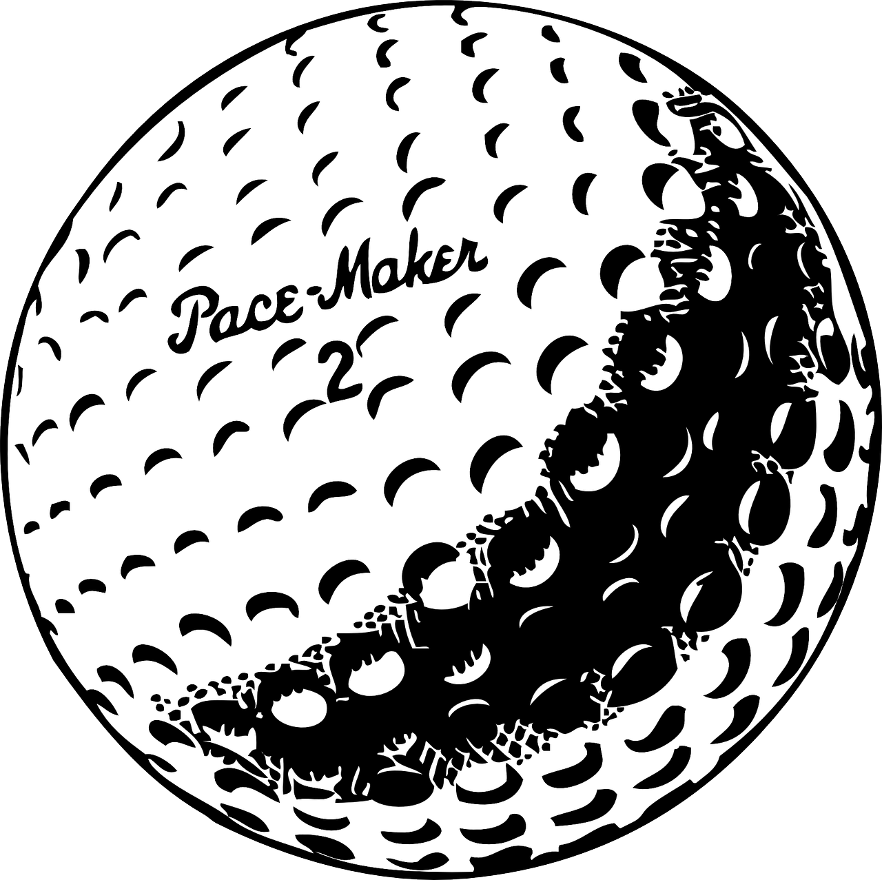 golf ball white free photo